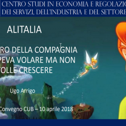 Alitalia: the mistery of the company that used to fly but didn't want to grow