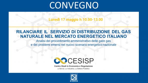 Rilanciare il  servizio di distribuzione del gas naturale nel mercato energetico italiano